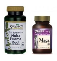 Zestaw Dla Kobiet - Muira Puama i Maca Extract
