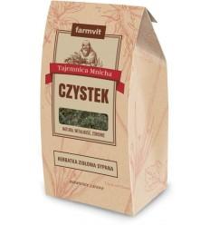 Czystek liść - herbatka ziołowa Farmvit