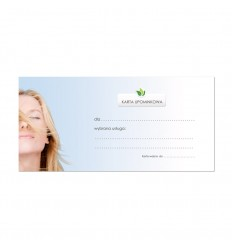 Karta Upominkowa na konchowanie uszu z masażem karku i twarzy