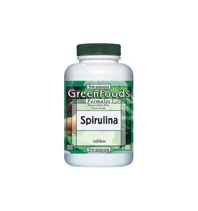 Swnason Spirulina 500 mg- 180 tabletek