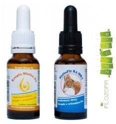 Zestaw witamin: Witamina D3 i K2