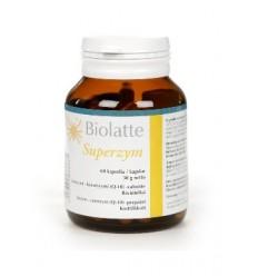 Biolatte Superzym - enzymy trawienne - suplement diety