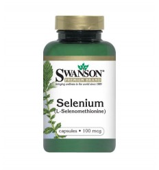 Swanson Selen 100 mcg - suplement diety