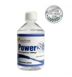 Organiczna Krzemionka Power Si + (płyn) - suplement diety
