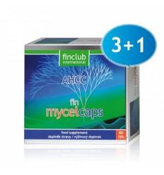 fin Mycelcaps - suplement diety - zestaw 3 + 1 gratis