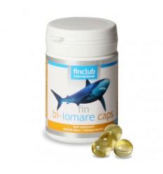fin bi-iomare caps wzmacnianie odporności - olej z wątroby rekina zawiera Omega-3