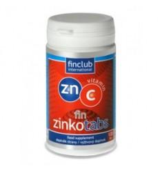 fin Zinkotabs - cynk z witaminą c (120 tab.) - suplement diety