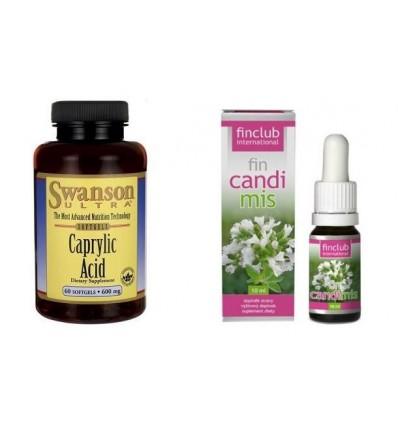 Zestaw na drożdże i pleśnie - Candimis & Kwas kaprylowy