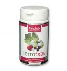 fin Ferrotabs - żelazo w postaci chelatowej - suplement diety