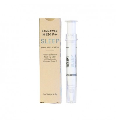Hemp + Applicator Sleep - olej CBD z konopi z melatoniną