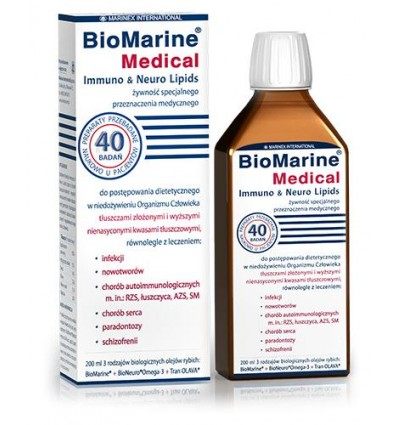 BioMarine Medical Immuno & Neuro Lipids - suplement diety