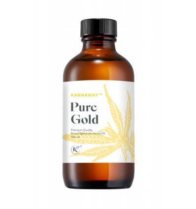 Kannaway Pure Gold - olej z konopi - 1000 mg CBD (jesienna promocja).