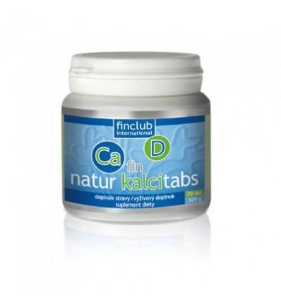 fin Natur Kalcitabs - wapń i witamina D2 ze źródeł roślinnych